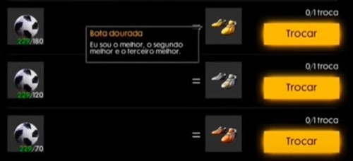 As-skins-mais-raras-do-Free-Fire-chuteira-dourada